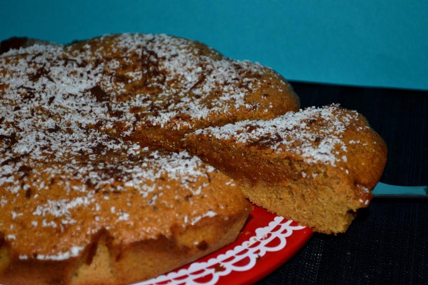 G teau moelleux au sucre de fleur de coco par la table de - La table de mathilde ...