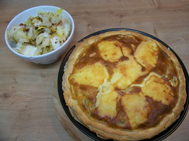 recettes de moutarde 224 l ancienne par cuisine en folie tarte aux endives gratin 233 e au