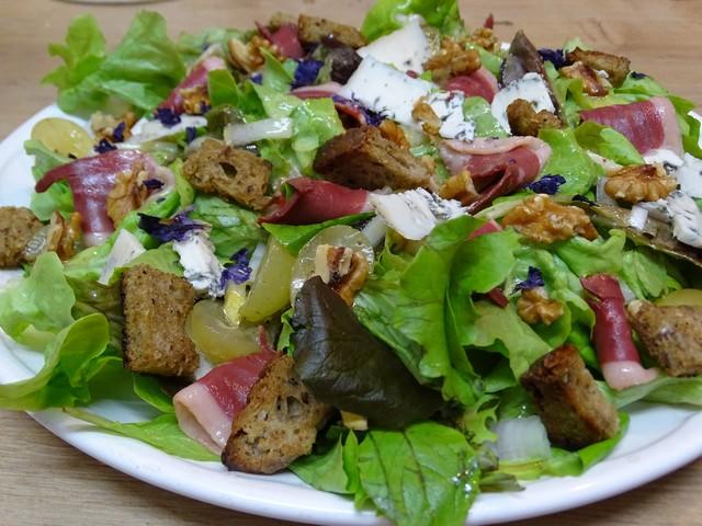 Recettes de bleu d 39 auvergne par cuisine en folie salade for Auvergne cuisine