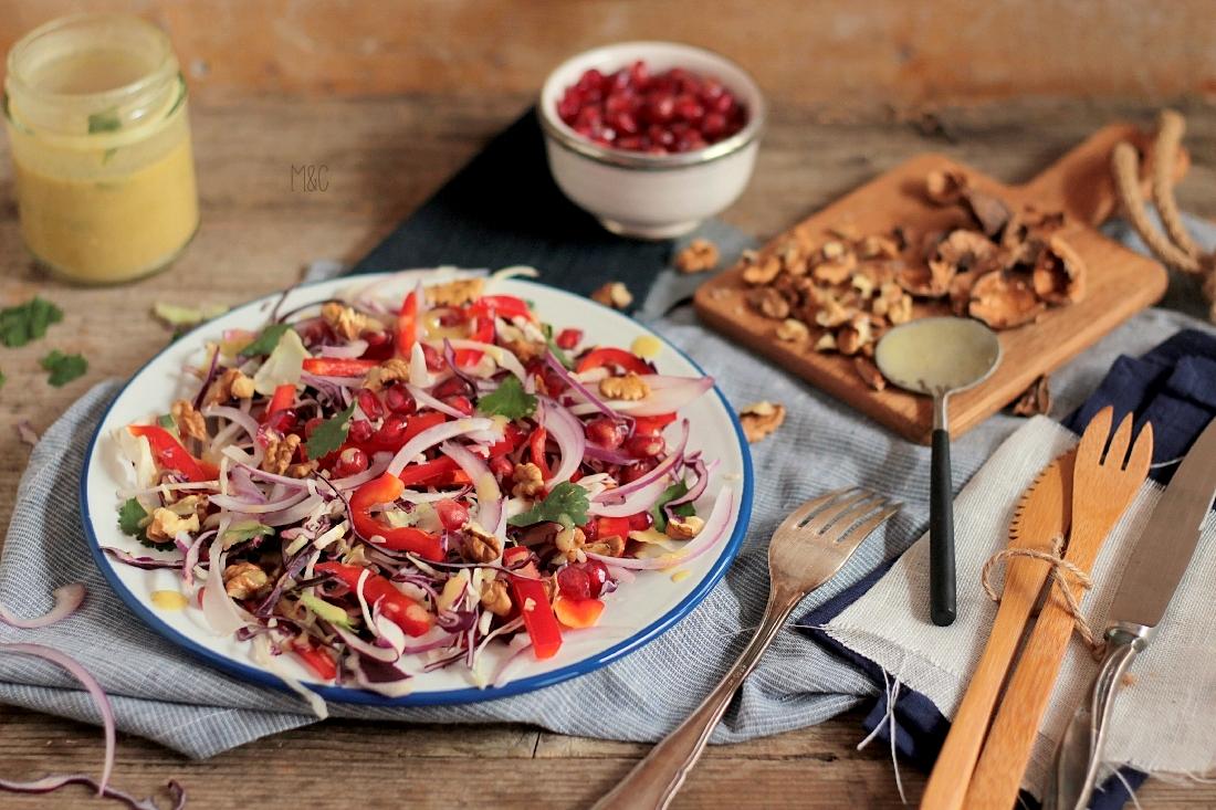 salade d hiver au chou rouge