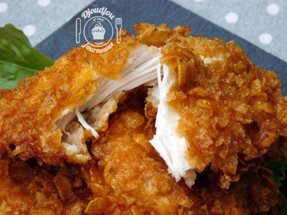blanc de poulet friteuse
