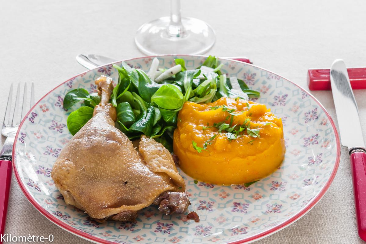Recettes de confit par kilometre 0 confit de canard la - Comment cuisiner des cuisses de canard fraiches ...