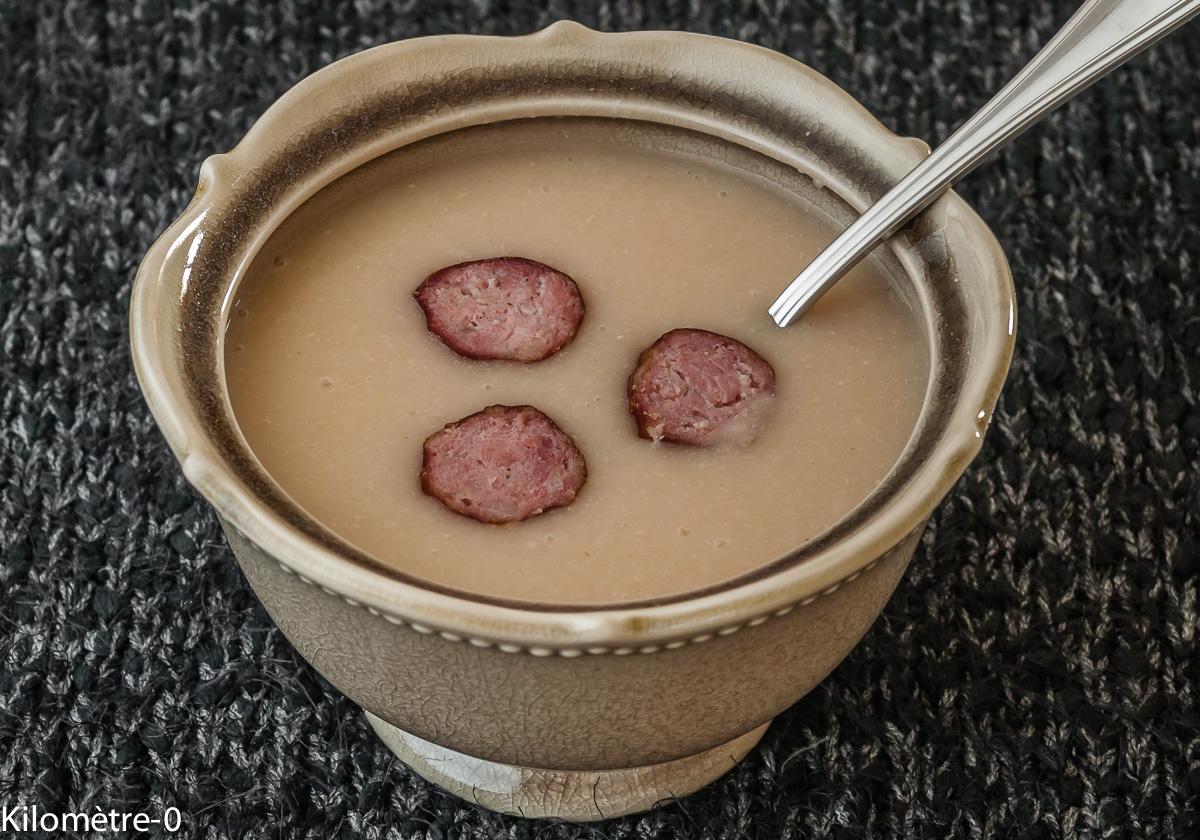 Recettes de haricots blancs par kilometre 0 soupe de - Cuisiner des navets blancs ...