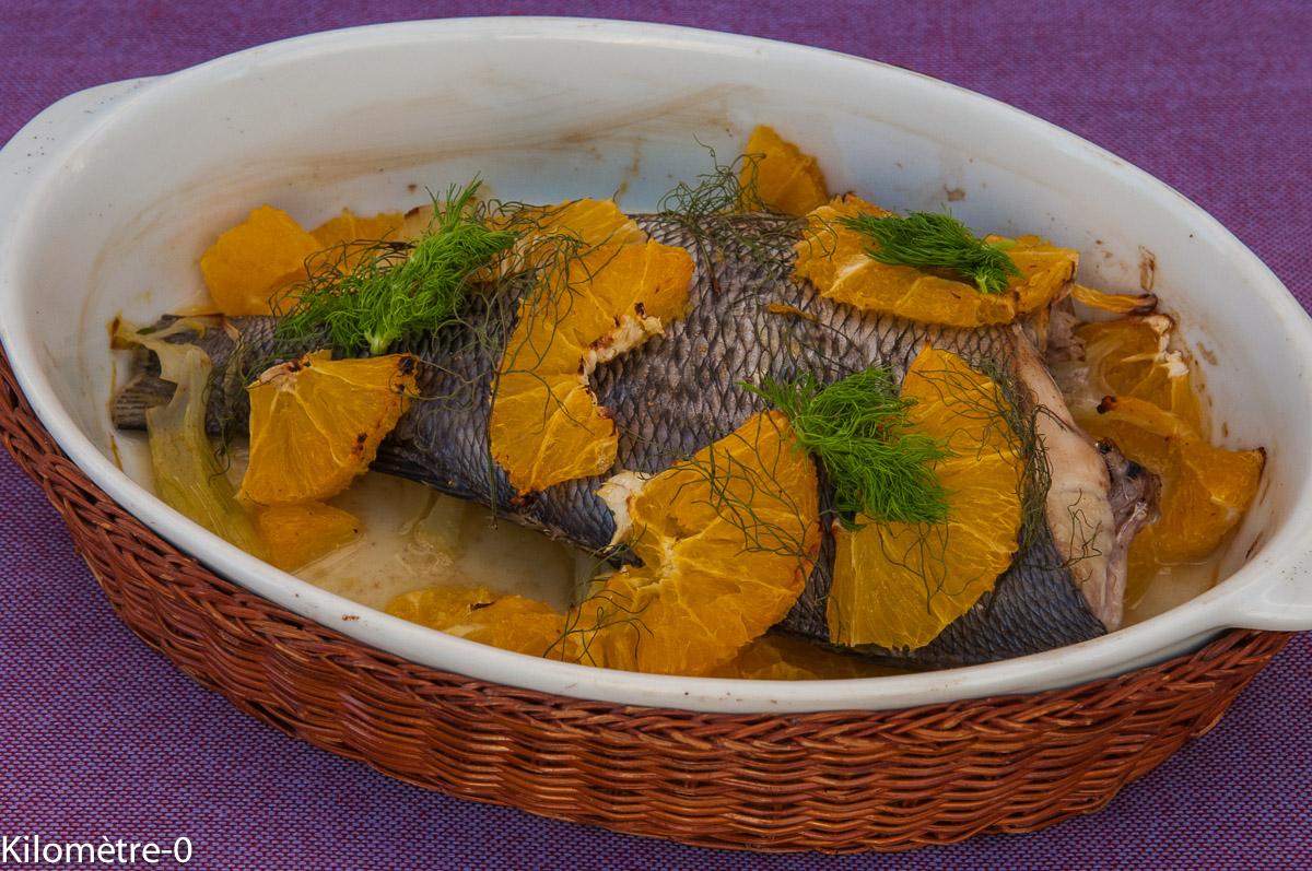 Recettes de l ger par kilometre 0 daurade au four l - Cuisiner le fenouil au four ...