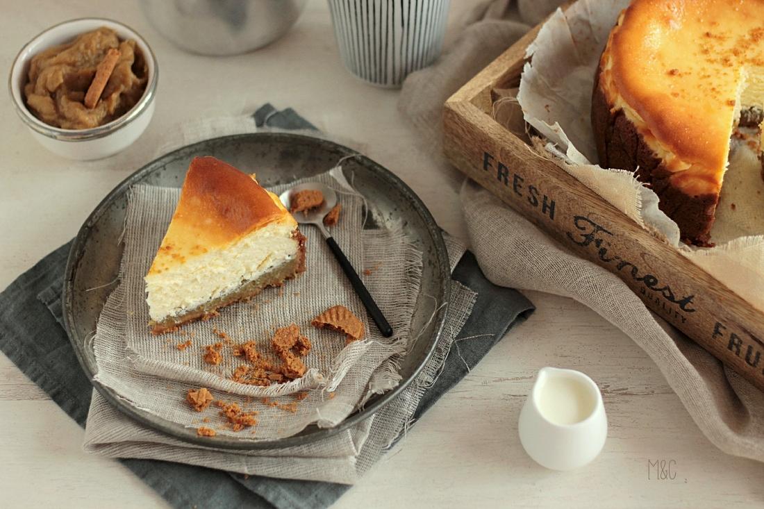 Cheese cake rhubarbe par maryse cocotte - Cuisiner avec une cocotte ...