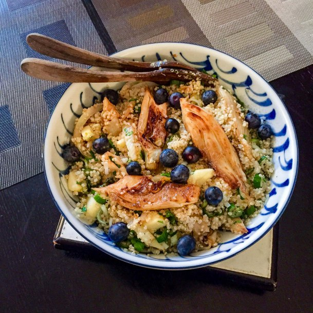 Recettes de quinoa par lutsubo salade quinoa et fenouil - Cuisiner fenouil braise ...