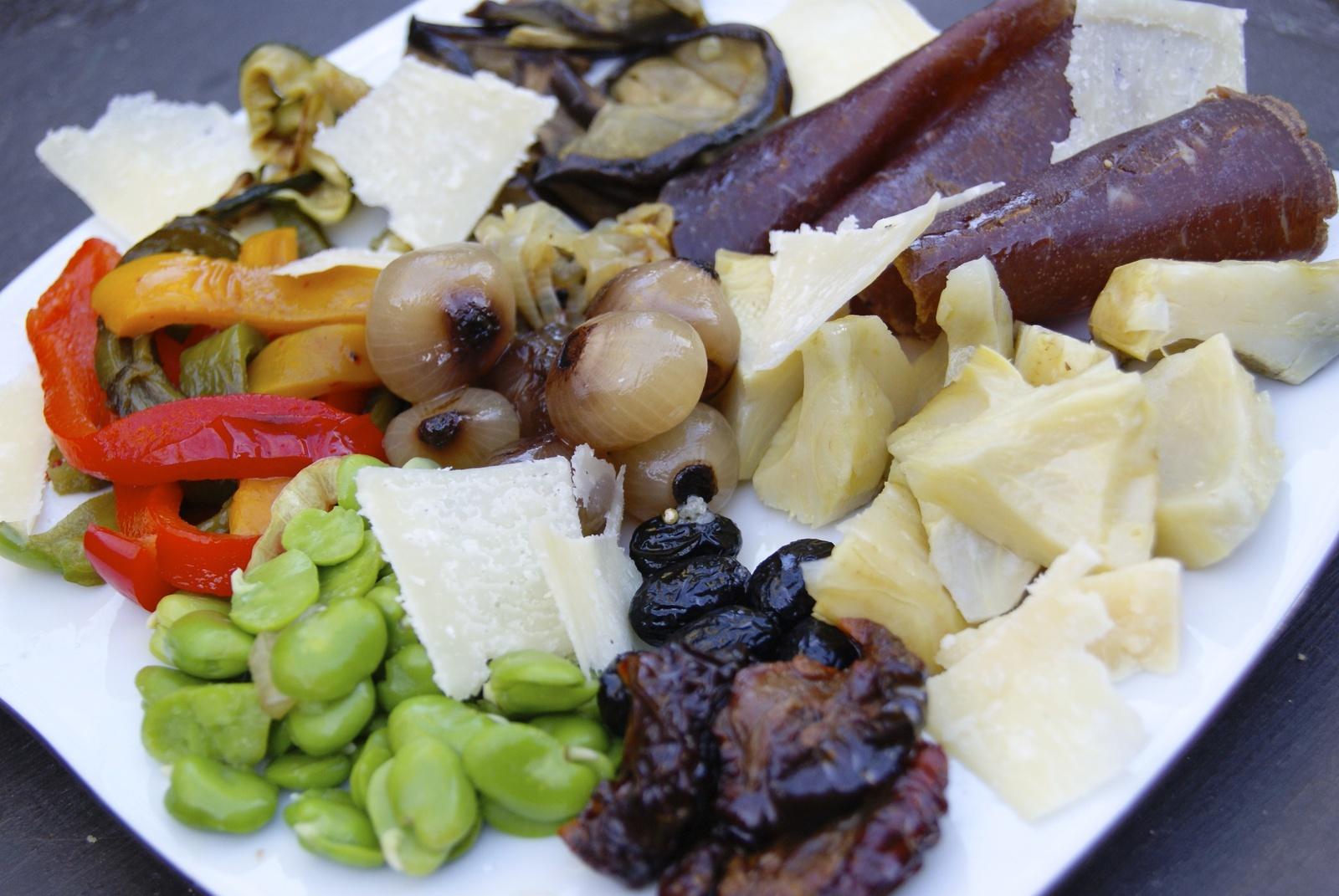 Assiette d 39 antipasti par la p 39 tite cuisine de pauline for Assiette cuisine