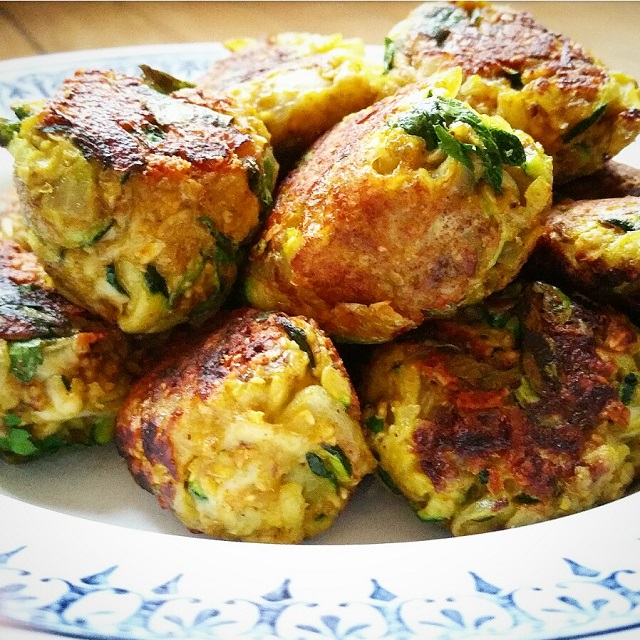 Boulettes v g tariennes courgettes oignons et curry par gratinez - Quand semer les courgettes ...