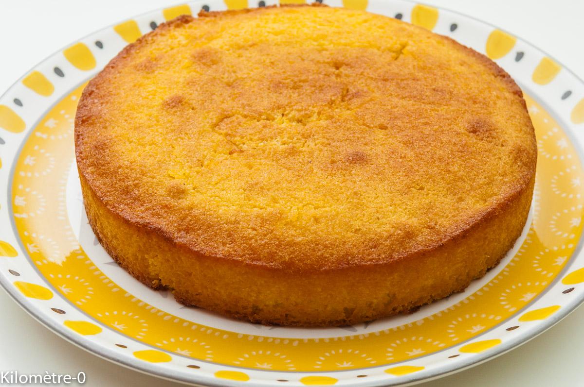 G teau marocain l 39 orange et aux amandes par kilometre 0 - Mousse pour canape marocain ...