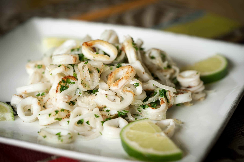Persillade d 39 encornets la plancha recette de calamars for Cuisiner a la plancha
