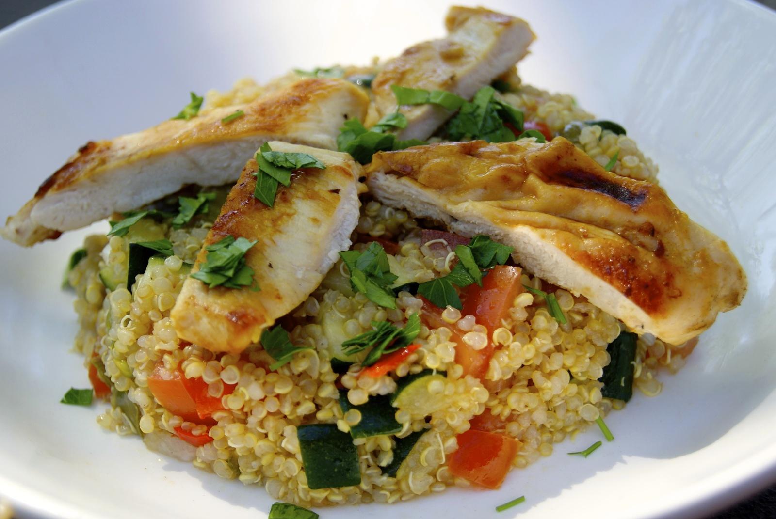 Recettes de healthy par la p 39 tite cuisine de pauline for Cuisine quinoa