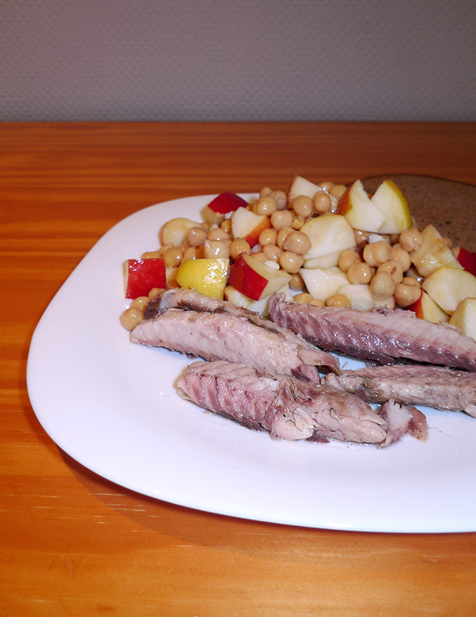 Recettes de pois chiche par aline bianca cuisine salade - Cuisiner des pois chiches ...