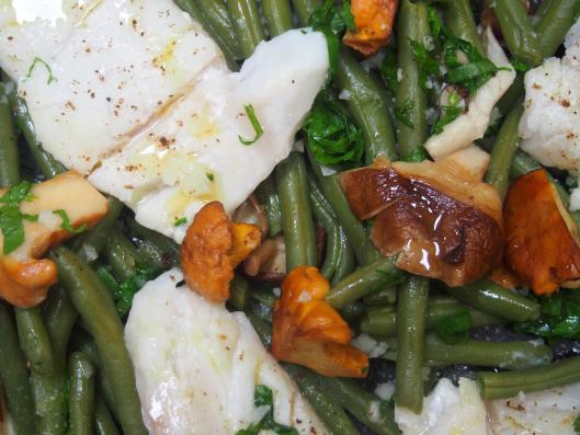 Recettes de haricots verts par cuisiner en paix dos de - Cuisiner du dos de cabillaud ...