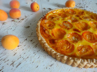 Tarte normande aux abricots par patisserie traditionnelle - Recette tarte normande traditionnelle ...