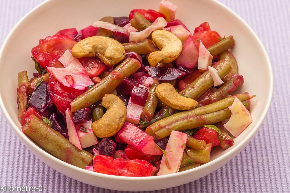 Salade de tomates betteraves rouges concombre et - Cuisiner les betteraves rouges ...