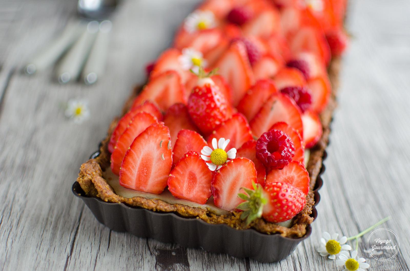 tarte aux fraises ig bas avec p 226 te sabl 233 e et cr 232 me p 226 tissi 232 re par voyage gourmand