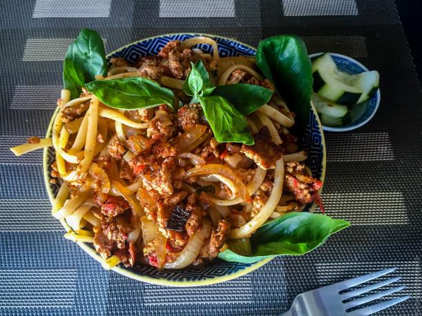 Recettes de cuisine vegane par lutsubo linguine comme - Cuisiner fenouil braise ...