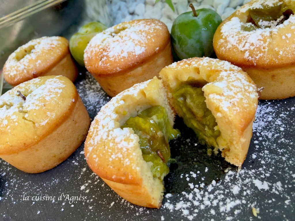 Recettes de reine claude par la cuisine d 39 agnes muffins for Au coeur de la cuisine