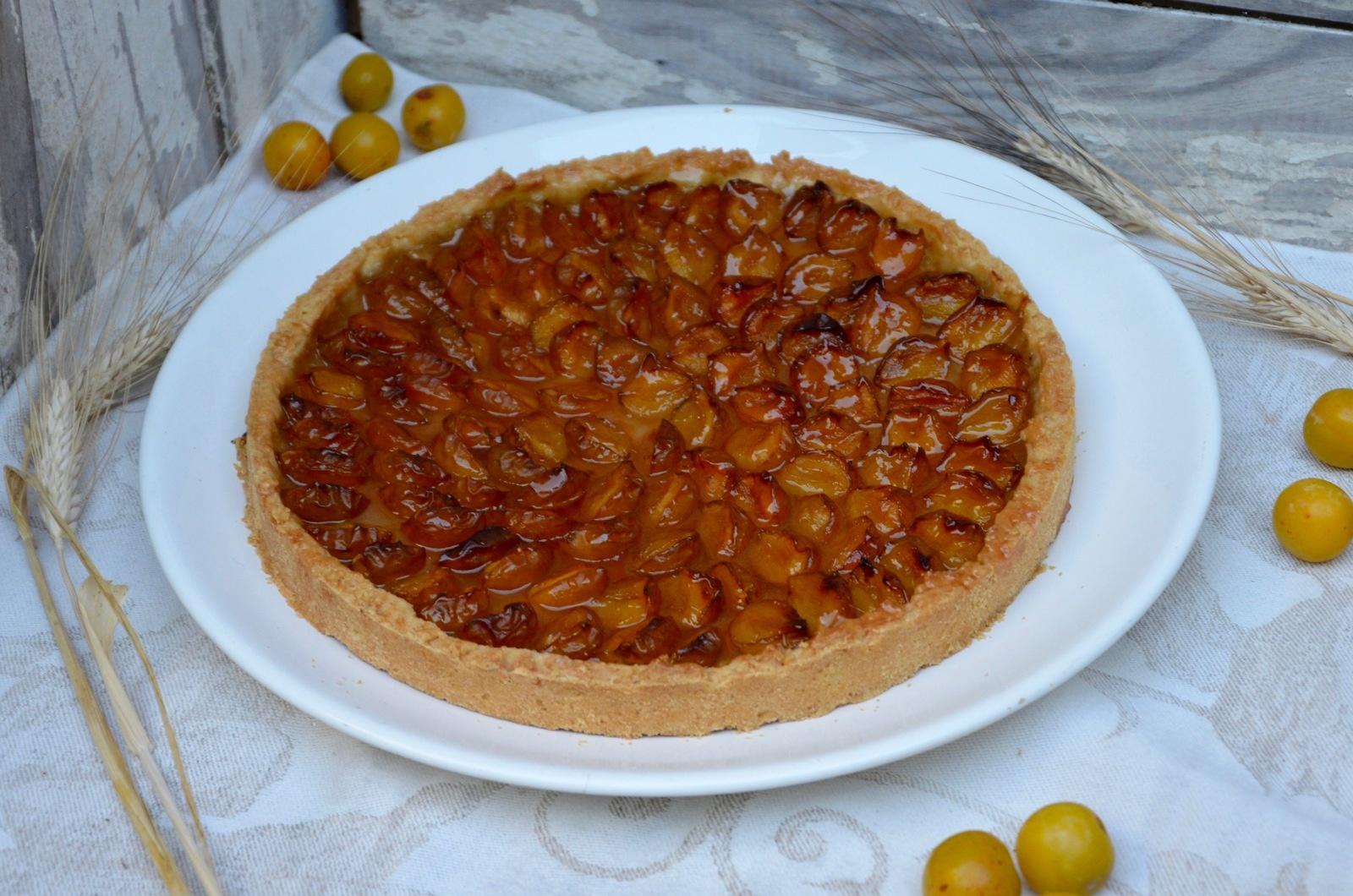 recettes de mirabelles par la p 39 tite cuisine de pauline tarte aux mirabelles tarte multifruits. Black Bedroom Furniture Sets. Home Design Ideas