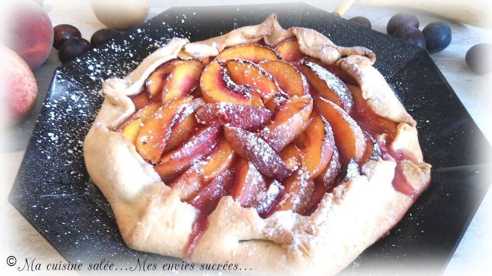 recettes de p 226 te bris 233 e par ma cuisine sal 233 e mes envies sucr 233 es tarte aux nectarines