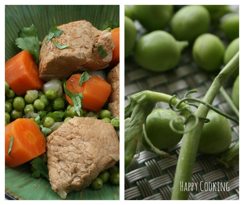 Recettes de petits pois par happy cooking tajine de veau aux petits pois et l ail oeufs - Cuisiner le foie de lotte ...