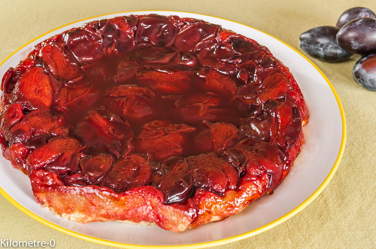 Recettes d 39 t fruits par kilometre 0 tatin aux quetsches - Cuisiner les choux de bruxelle ...