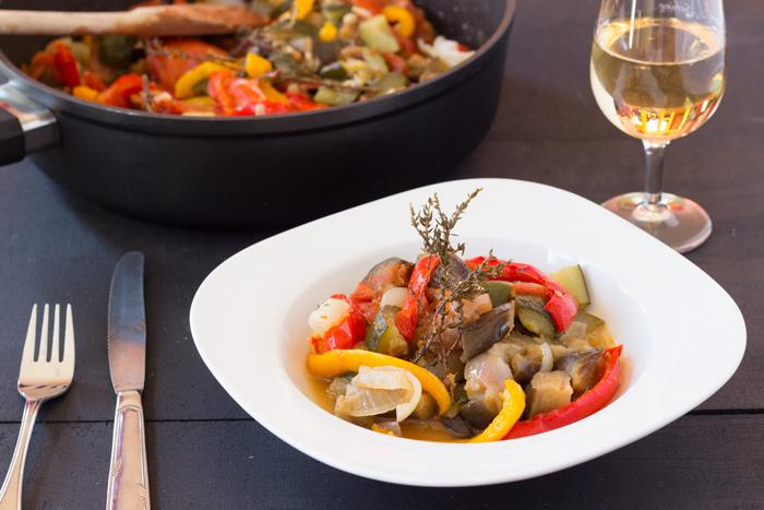La ratatouille par une french girl cuisine - Cuisiner la ratatouille ...