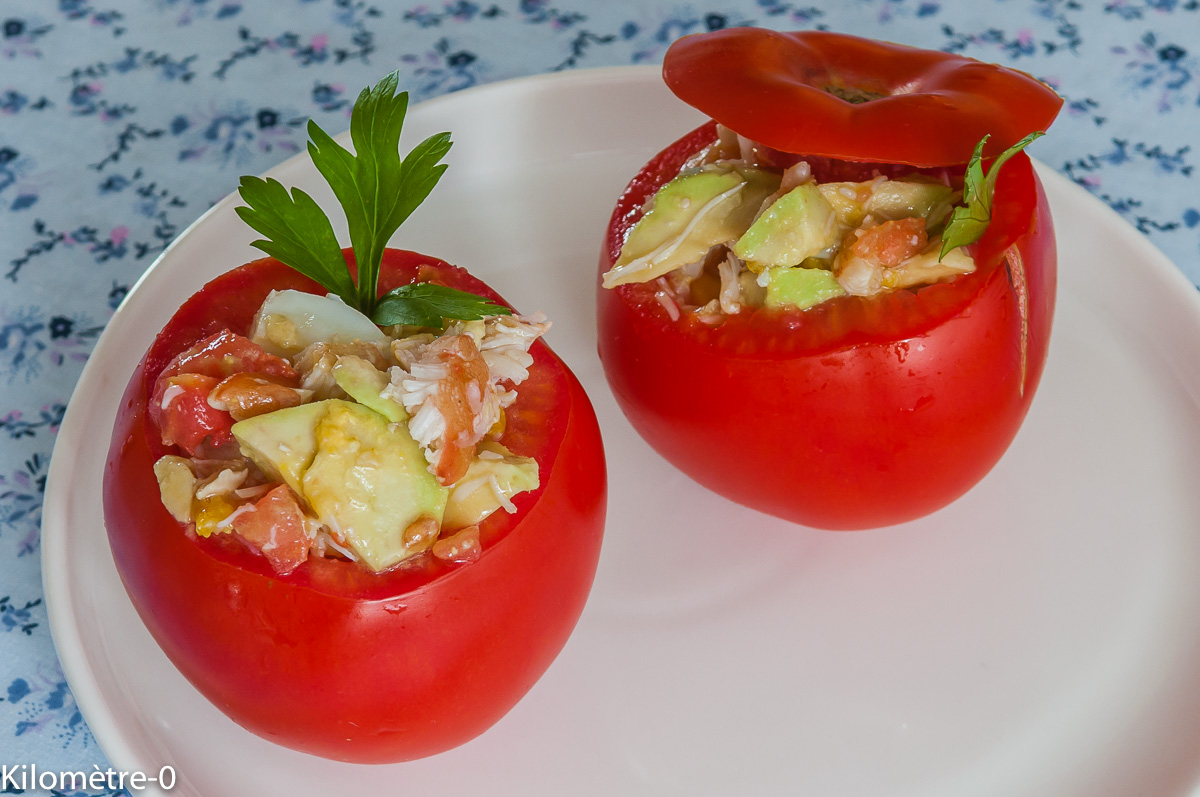 Recettes de tomates farcies par kilometre 0 tomates - Cuisiner les choux de bruxelle ...