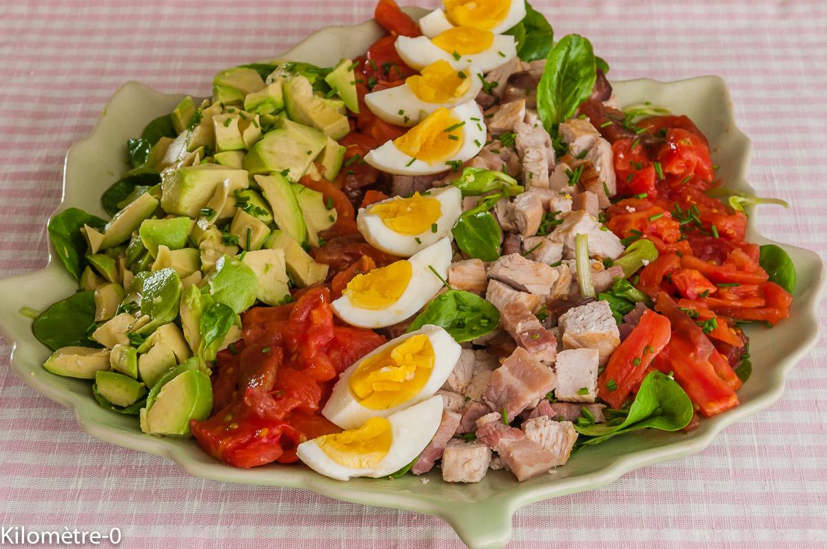 Recettes d 39 avocat par kilometre 0 salade compl te dinde for Salade entree originale