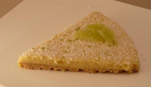 Tarte au citron vert et noix de coco par simple gourmand - Recette tarte au citron simple ...