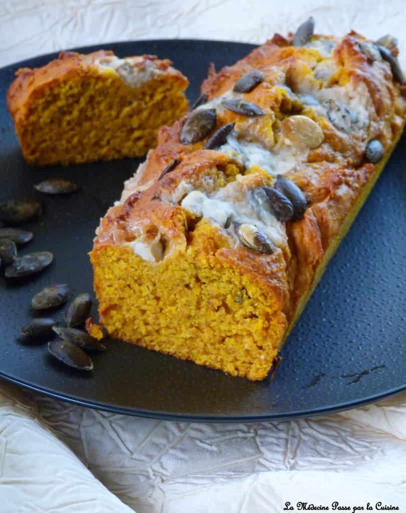Cake Design Recette Halloween : Cake au potimarron et gorgonzola (Une recette de Halloween)