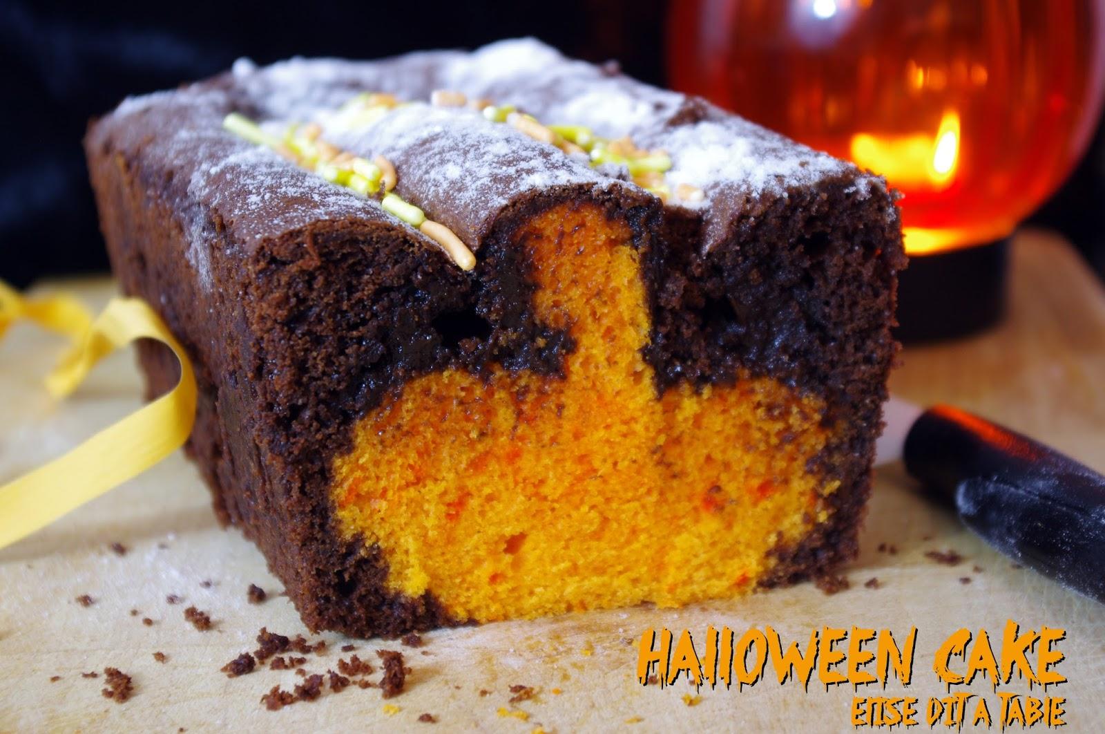 Cake Design Recette Halloween : Recettes de halloween par Elise dit a table : Halloween ...
