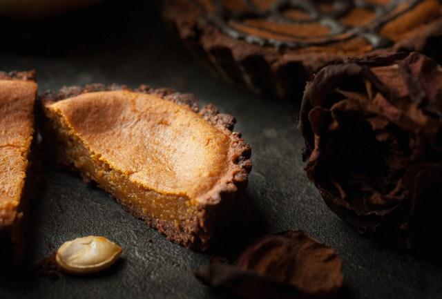 recettes de p 226 te sabl 233 e par la faim est proche tartelettes potimarron et chocolat