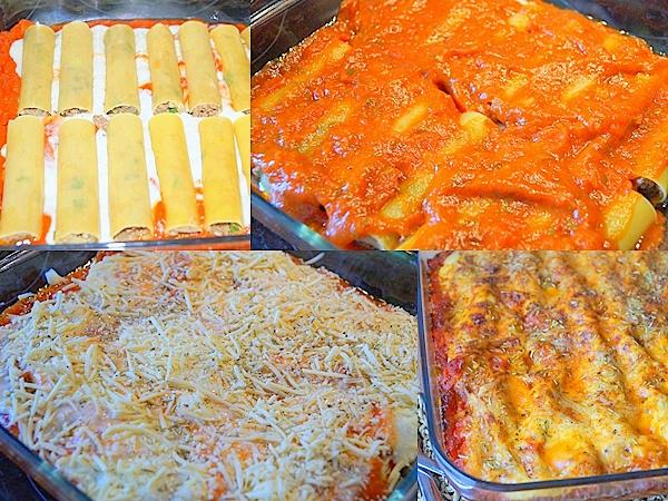 recettes de lasagne par auxdelicesdupalais cannelloni 224
