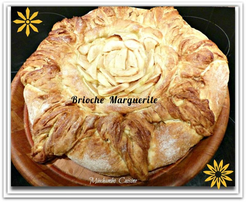 recettes de fa 231 onnage marguerite par miechambo cuisine brioche marguerite