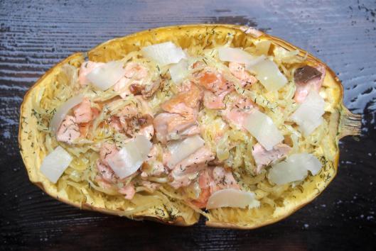 Recettes de saumon frais par cuisiner en paix courge - Cuisiner les brocolis frais ...