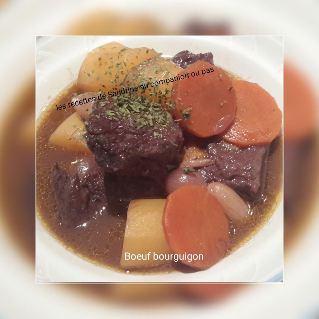 Recettes de boeuf bourguignon par recettes au companion ou - Cuisiner le boeuf bourguignon ...