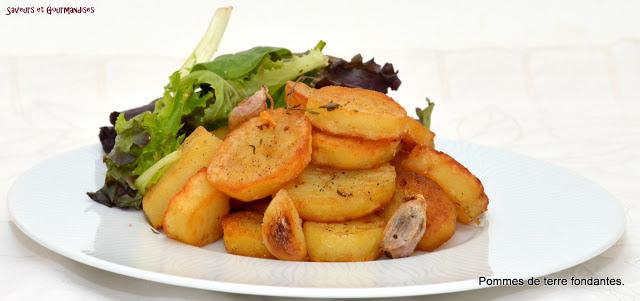 recettes d 39 accompagnement par nadji pommes de terre fondantes de gordon ramsay. Black Bedroom Furniture Sets. Home Design Ideas