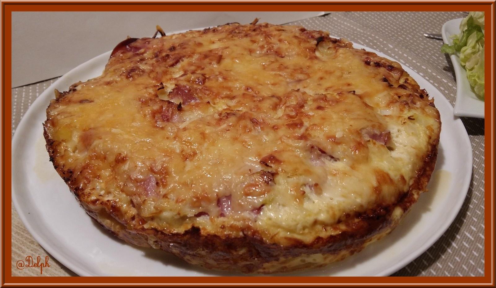 Recettes de pomme de terre par oh la gourmande g teau de pommes de terre au bacon gratin de - Pommes de terre a la braise ...