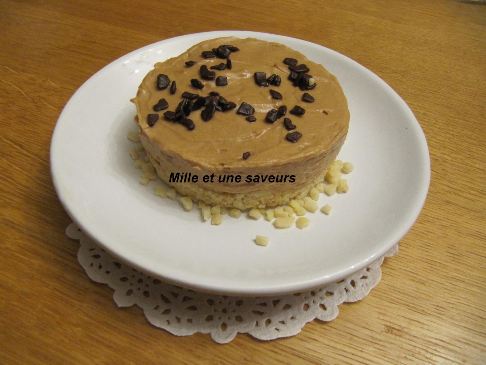 recettes de base cheese cake par jolivet dessert chic 224 la cr 232 me pralin 233 e sur sa base