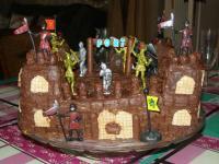 Ivanohe (gâteau au cacao en forme de château) par CertiFerme