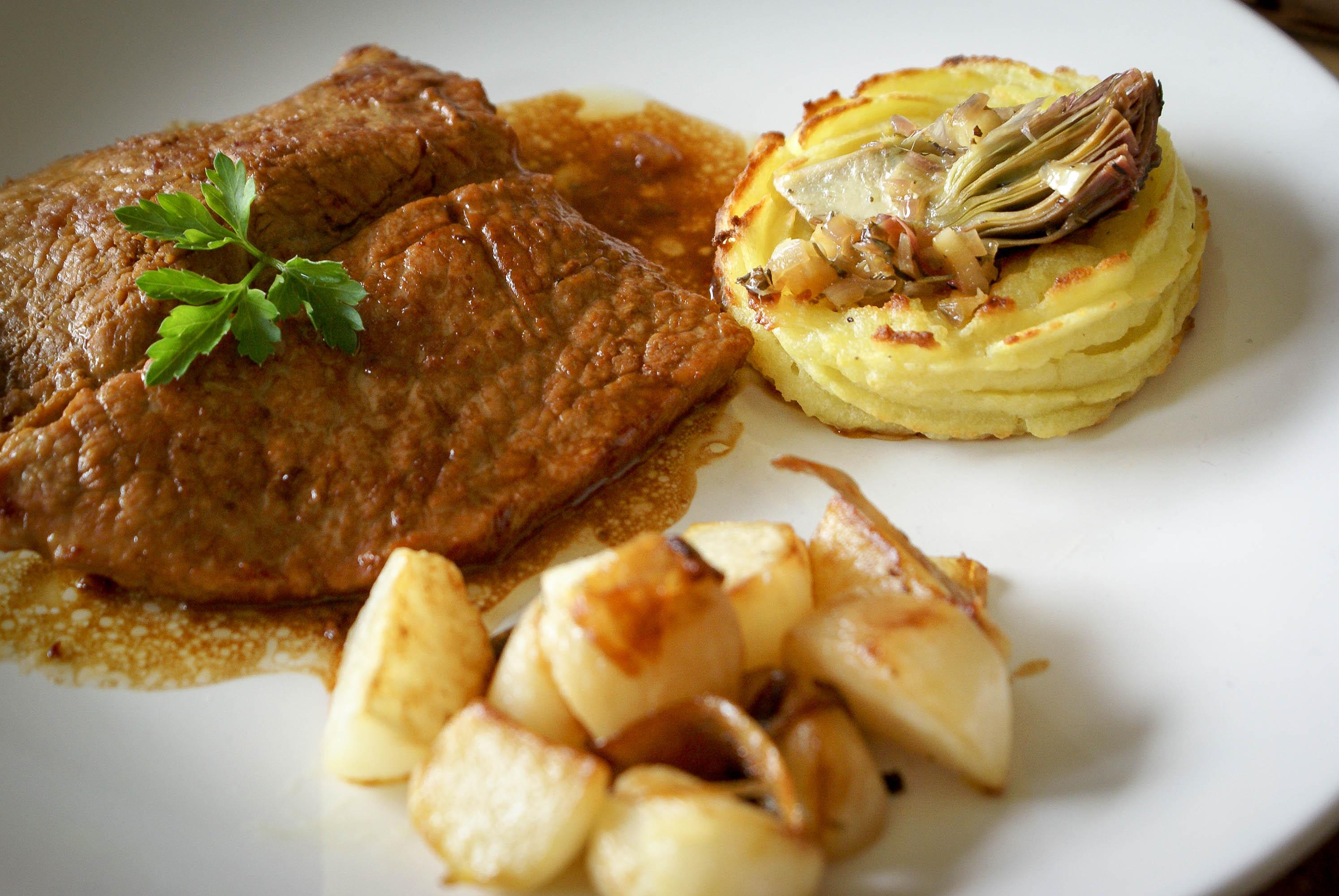 Escalopes de veau saut es recette des escalopes de veau - Cuisiner le collier de veau ...