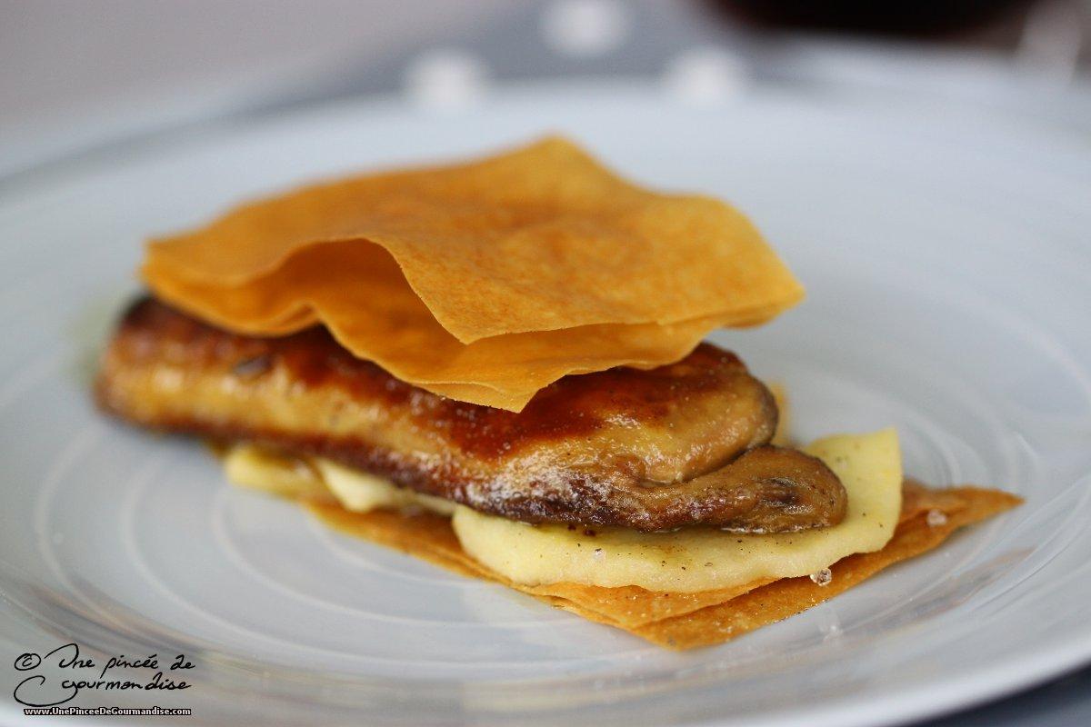 Recette Cake Aux Pommes Et Foie Gras