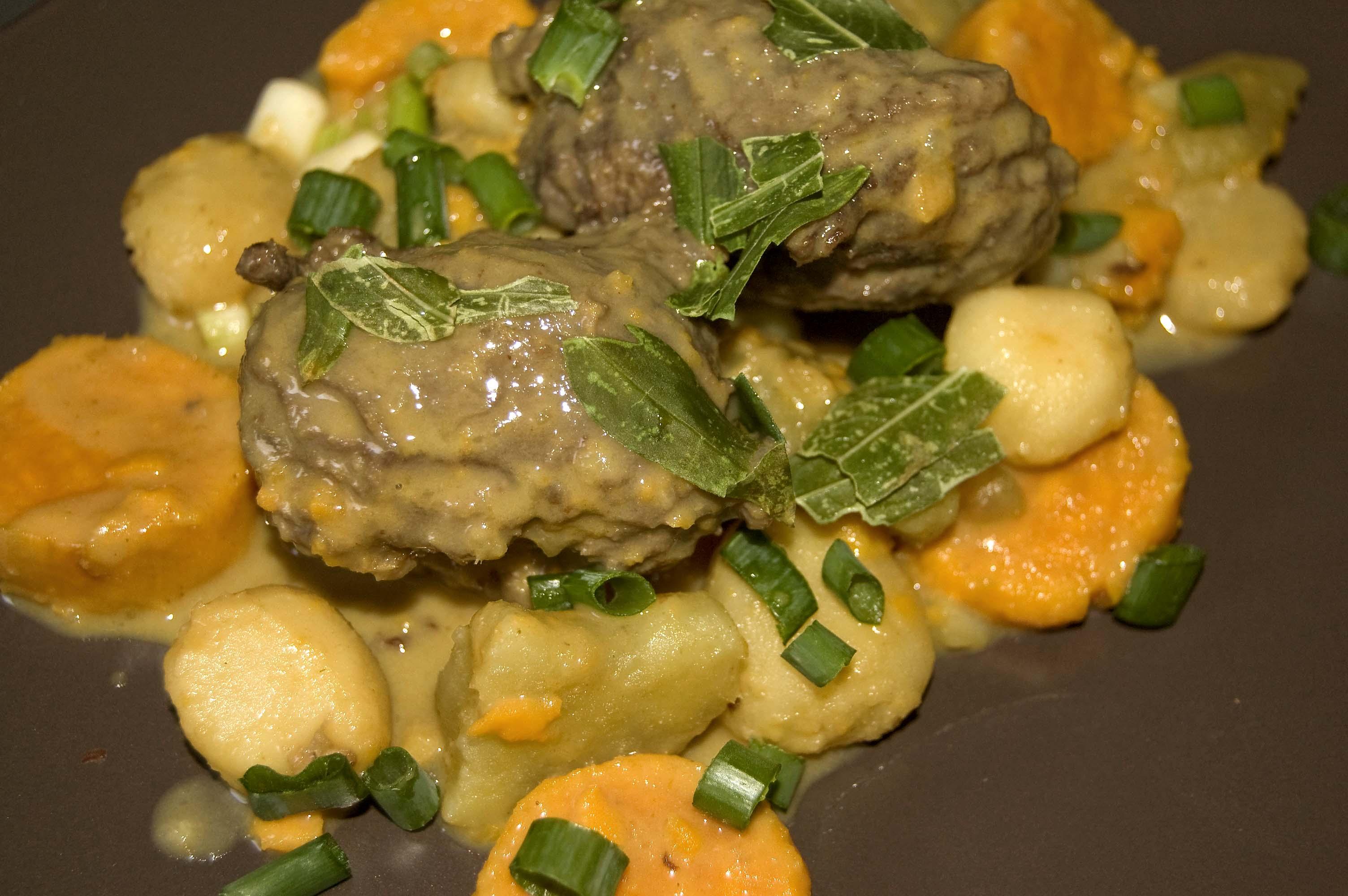 Joues de boeuf aux patates douces par saint maux - Cuisiner des joues de boeuf ...