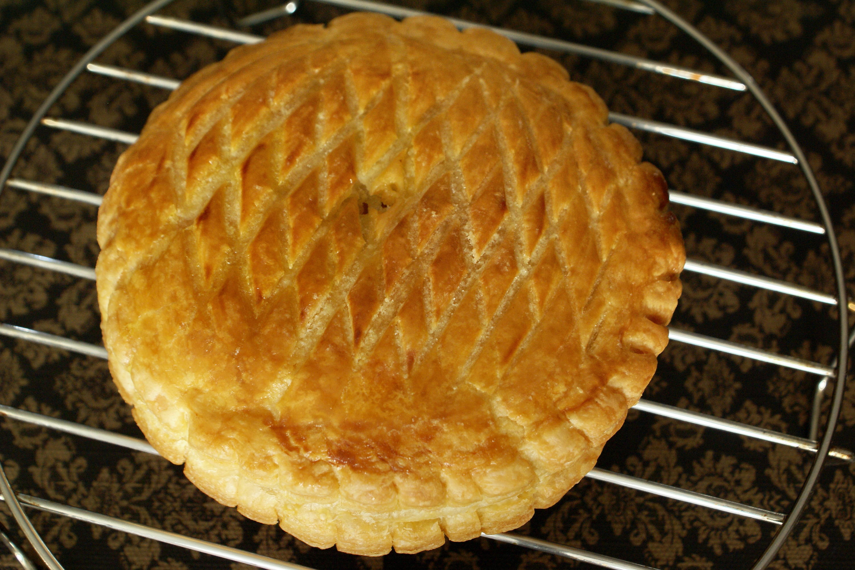 ... cake - La galette des rois ou pithivier in english par Chef Simon