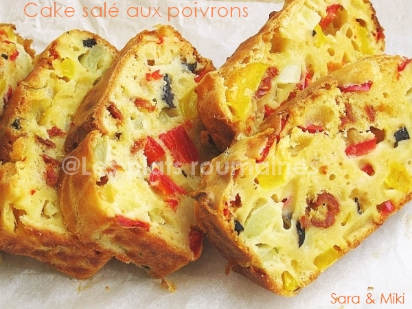 Cake Sal Ef Bf Bd Aux Poivrons