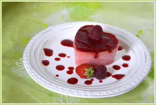sorbet p che et coulis fraise et framboise une recette de glace sorbet. Black Bedroom Furniture Sets. Home Design Ideas