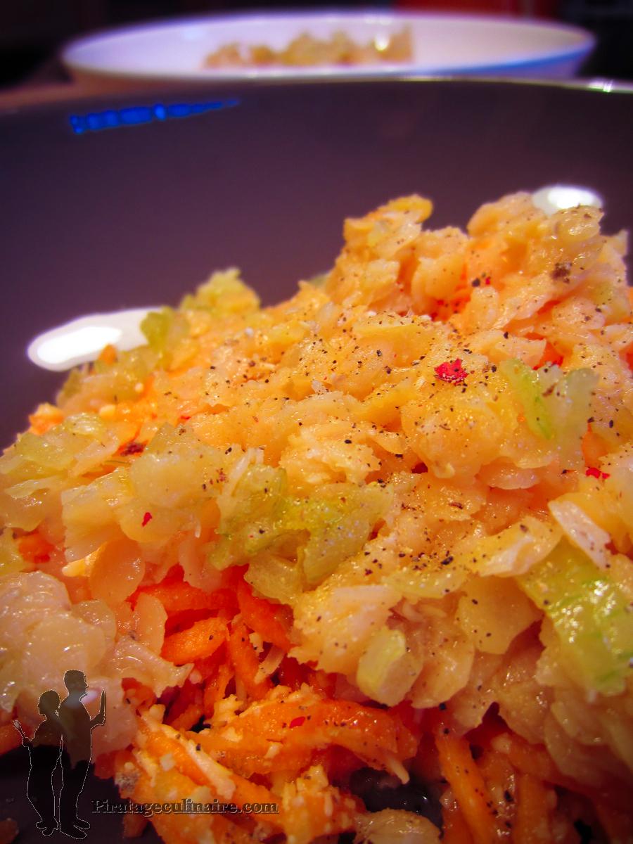 salade de carottes et lentilles corail par piratage culinaire. Black Bedroom Furniture Sets. Home Design Ideas