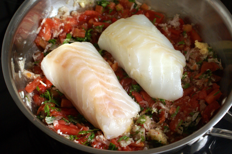 Dos de cabillaud dugl r recette de cabillaud dugl r par chef simon - Cuisiner des dos de cabillaud ...