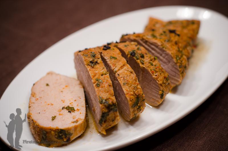 Filet mignon de porc la jama caine par piratage culinaire - Cuisine filet mignon de porc ...